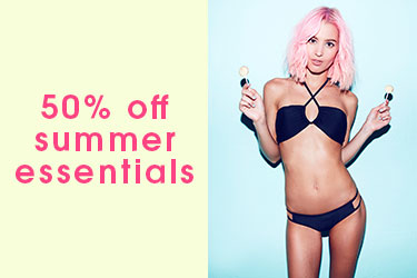 50% Off Summer Essentials