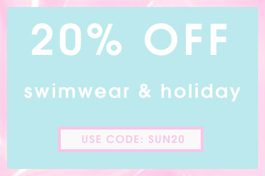 20% off Swimwear and Holiday