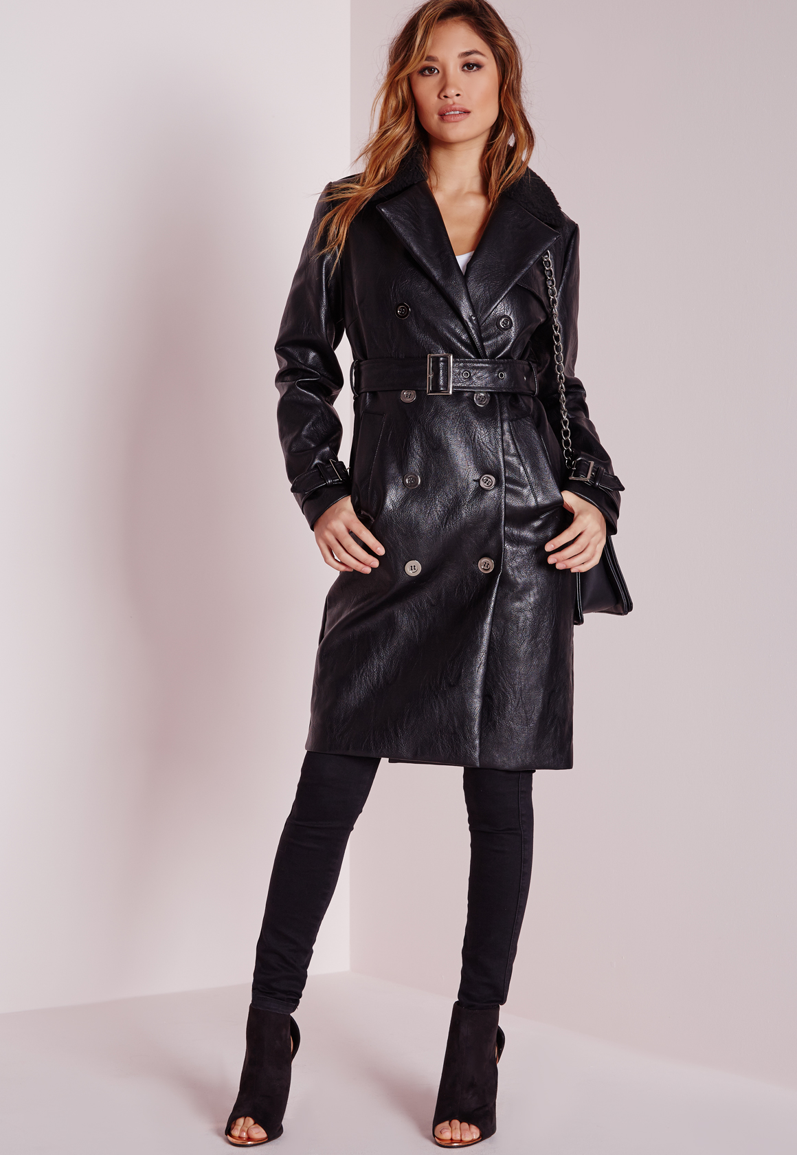 Buy Cheap Leather Trench Coat Compare Products Prices