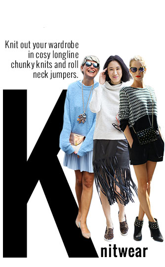 Chunky and Roll Neck Knitwear