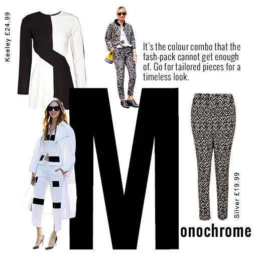 Black and White Tailored Pieces