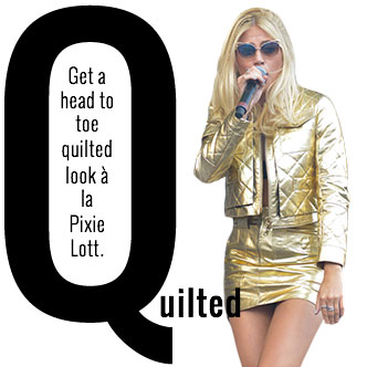 Quilted Women's Fashion