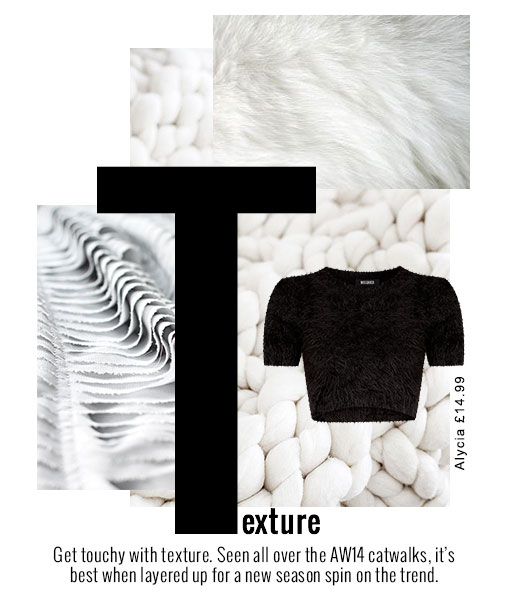Texture Trend for AW14