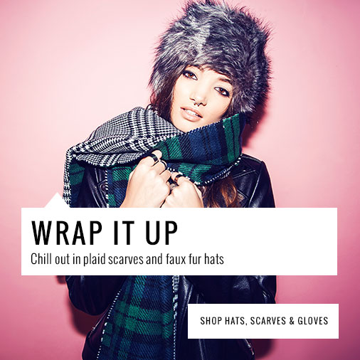 missguided hats, scarves and gloves