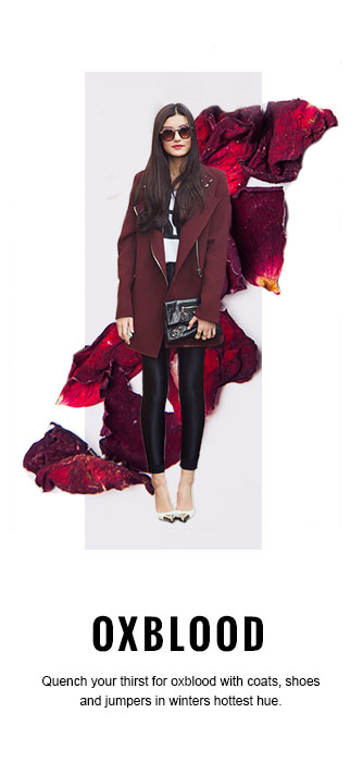 Wearing Oxblood for Autumn Winter 2014