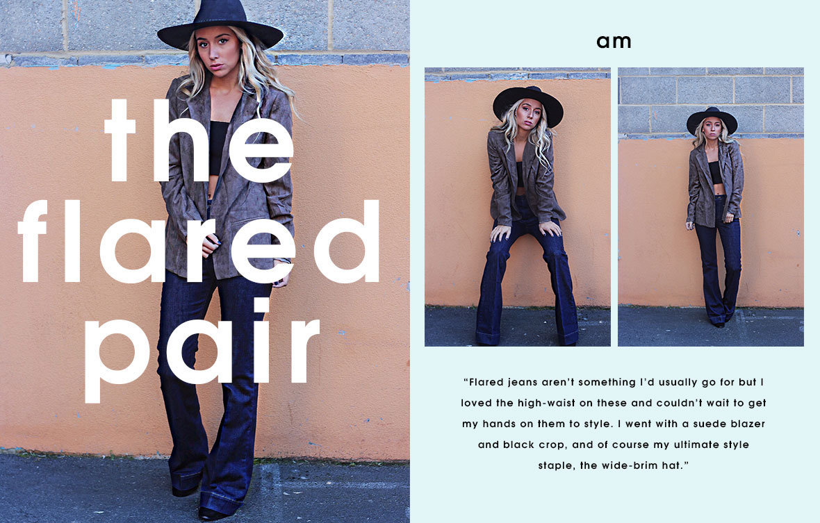 day to night denim - the flared pair