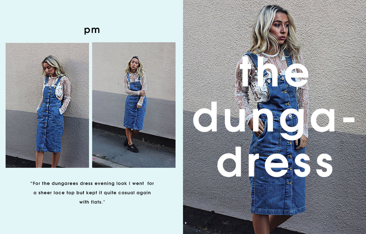 day to night denim - the dunga dress