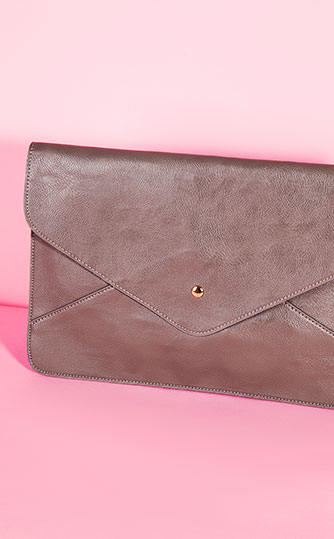 Missguided Envelope Clutch Bag