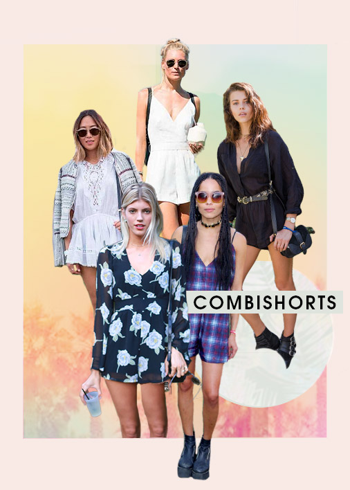 Playsuits Festival Trend