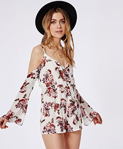 Floral playsuit £30