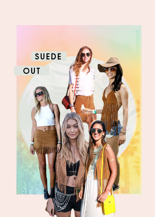 Suede Festival Trend