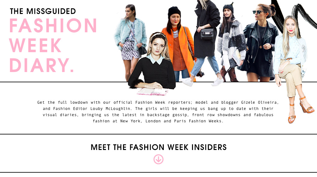 Missguided Fashion Week Diary