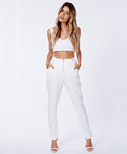 Cigarette trousers £25
