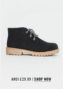 Andi Lace Up Ankle Boots