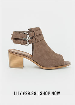 Missguided Lily Double Strap Ankle Boot