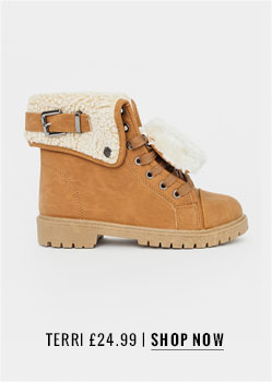 Missguided Shearling Detail Boots