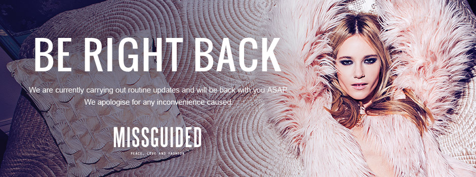 Be Right Back! We are currently carrying out routine updates and will be back with you ASAP. We apologise for any inconvenience caused.