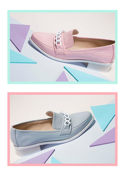 Missguided Pastel Loafers