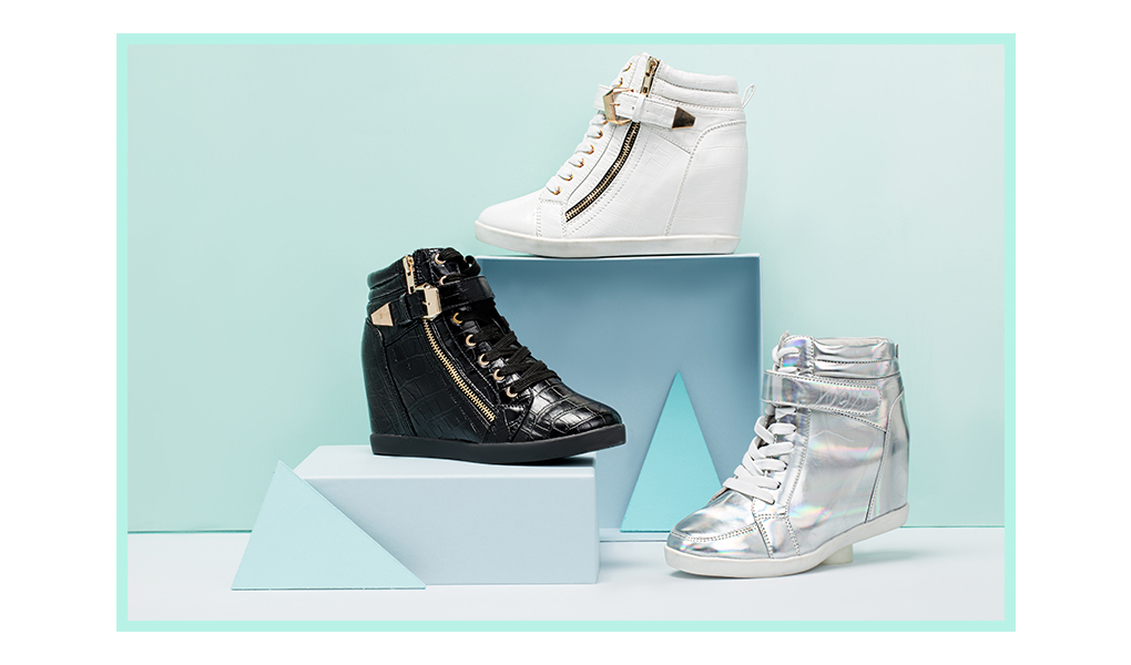 Missguided Hi-Top Trainers