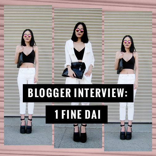 Interview with a Blogger - 1 Fine Dai