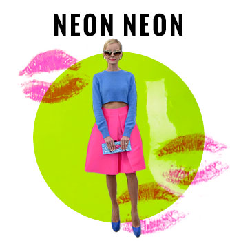 Neon Women's Fashion Trend