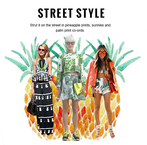 Tropical Street Style Inspiration